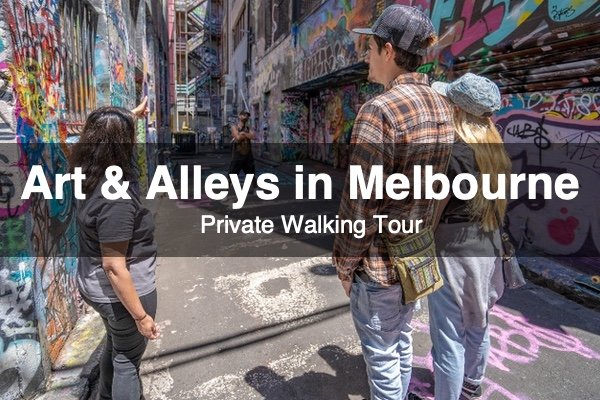 Art & Alleys in Melbourne
