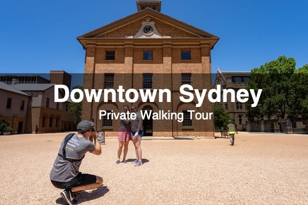 Downtown Sydney tour
