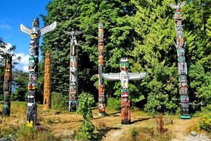 Brockton Point Totem Poles
