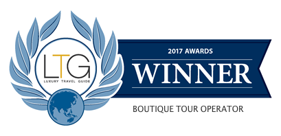LUXURY TRAVEL GUIDE 2017 winner