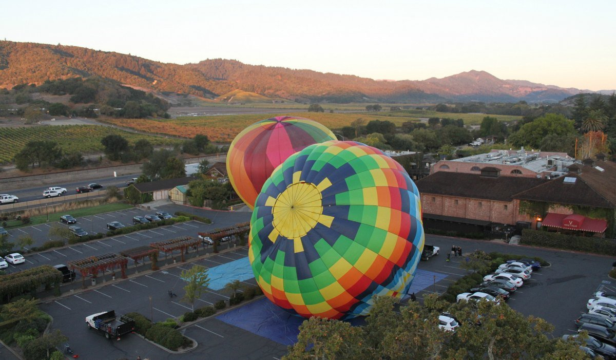 Hot Air Ballooning in the Napa Valley