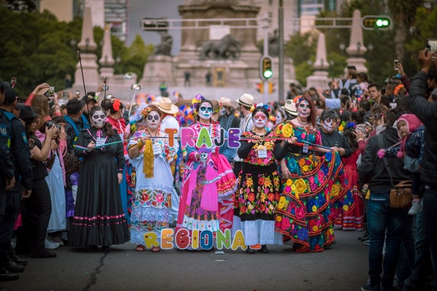 Colorful costumes